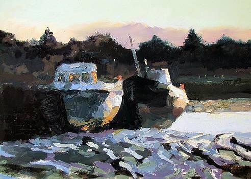 Evening pier by Robert Shaw