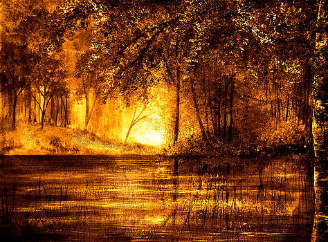 Evening Reflections by Ann Marie Bone