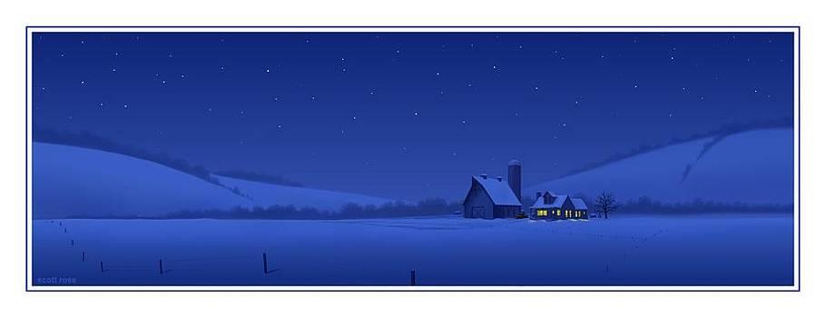 Evening Shade by Scott Ross