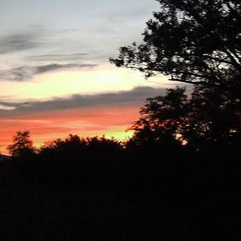 Evening Sunset by Rebekah Martin