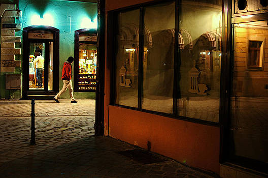 evening walk II by Cosmin Pintoc