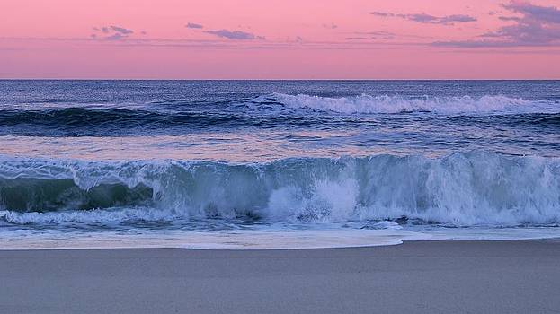 Evening Waves - Jersey Shore by Angie Tirado