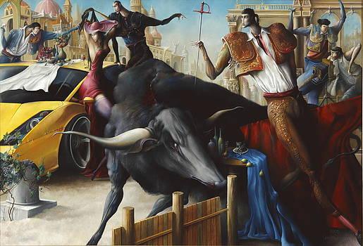 Event with bullfighting by Oleg  Osipoff