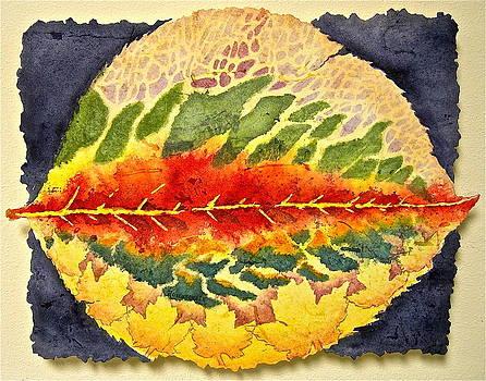 Every Leaf Has A Story by Carolyn Rosenberger