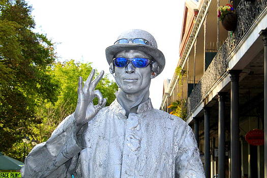 Everything's OK in the French Quarter by Kay Mathews