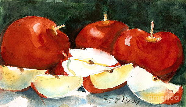 Eve's Snack of Red Apples by Reveille Kennedy