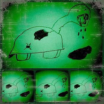 Evil Turtle by Kristine Knowlton