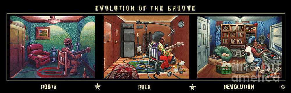 Evolution Of The Groove by Keith Shepherd