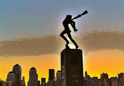 Exchange Place Jersey City by David Sanchez