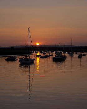 Exe Estuary near Topsham by Pete Hemington