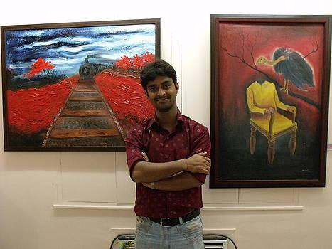 Exhibition S.C.A Gallery Kolkata by Biswajit Dutta