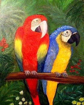 Exotic Birds by Elizabeth Diaz