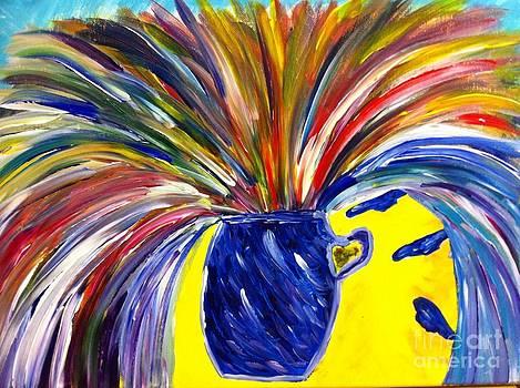 Exploding Breakthrough  by Stephanie Wogoman