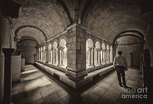 Exploring Cloisters by Ray Warren