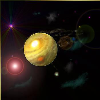 Exploring Jupiter  by Ricky Haug