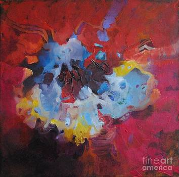 Explosion in red by Sashka Mitrova