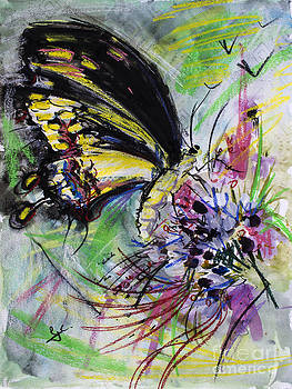 Ginette Callaway - Expressive Black Butterfly