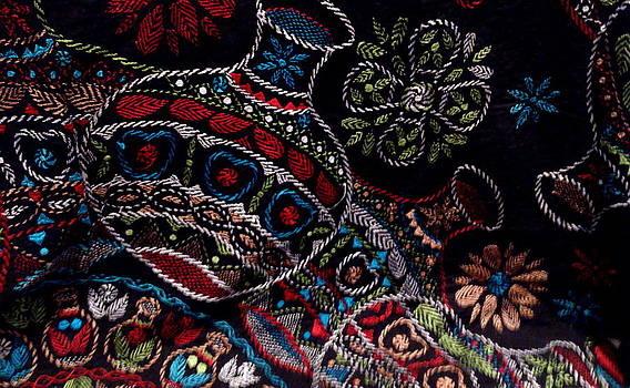Exquisite Afghan Embroidery by Zeni Shariff