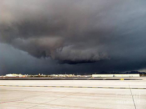 Extreme Weather over Sky Harbor by ChelsyLotze International Studio