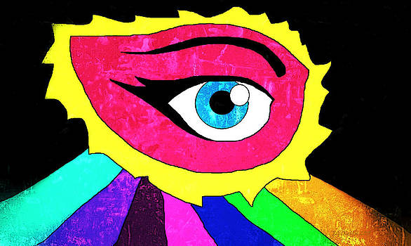 Eye 2 by Eneida Gastal-Keith