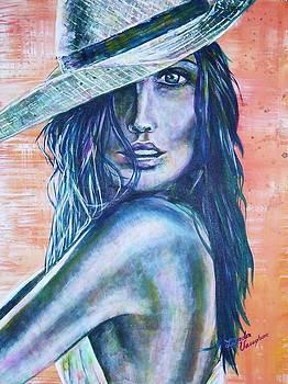 Eye Contac by Linda Vaughon