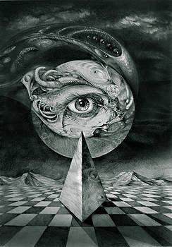 Eye Of The Dark Star by Otto Rapp