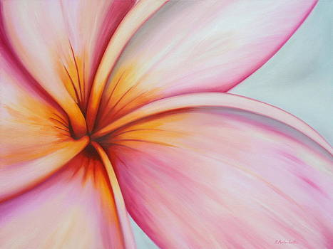 Eye of the Plumeria by Kristine Mueller Griffith