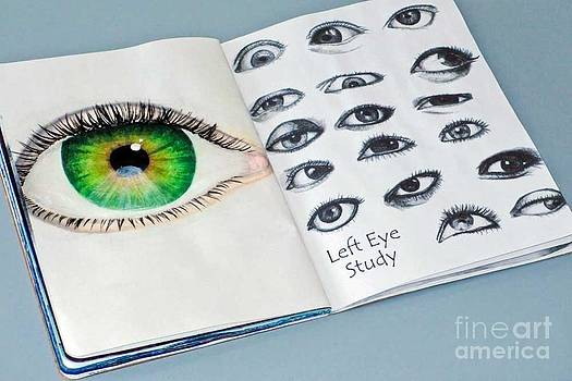 Eye Study 2 by Laura Kayon