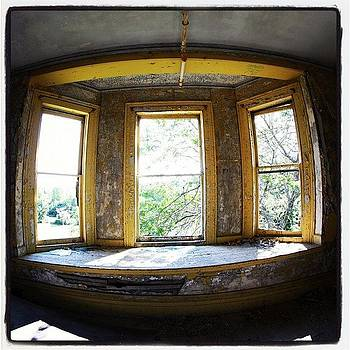 Eye Upon The World #window #abandoned by Jan Pan