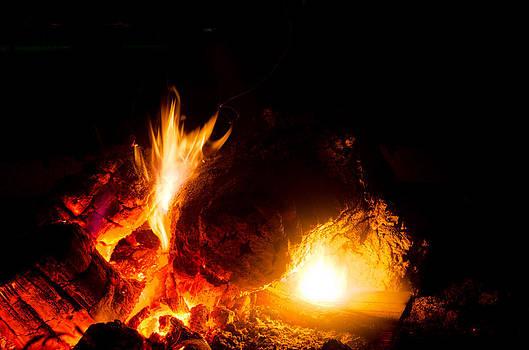 Eyes In The Fire by Off The Beaten Path Photography - Andrew Alexander