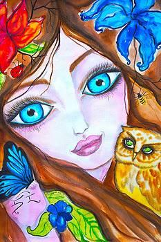 Eyes wide open by Marley Art