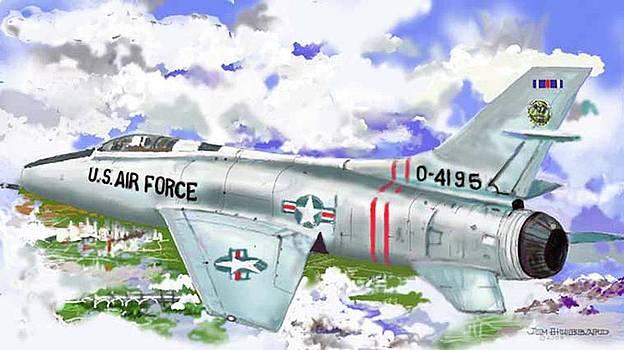 Jim Hubbard - F-100 D Super Sabre