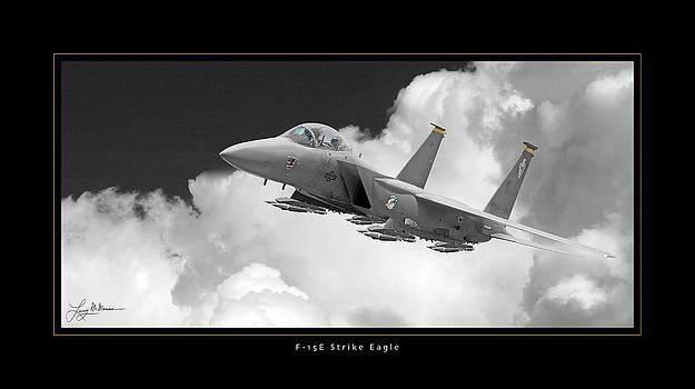 F-15E Strike Eagle by Larry McManus