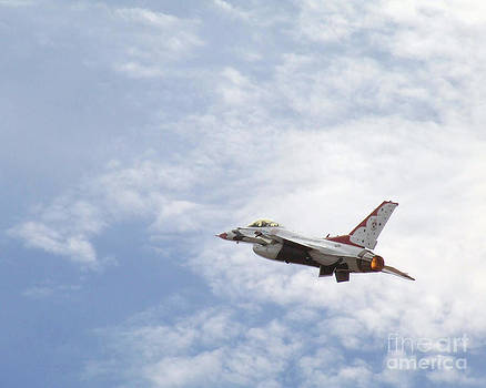 F-16 Thunder by David Chalker