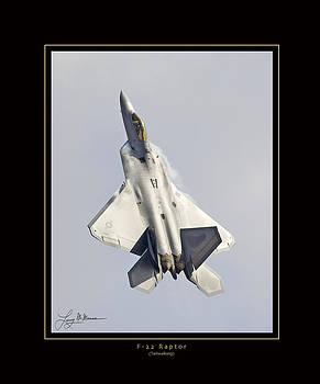 F-22 Raptor Tailwalking by Larry McManus
