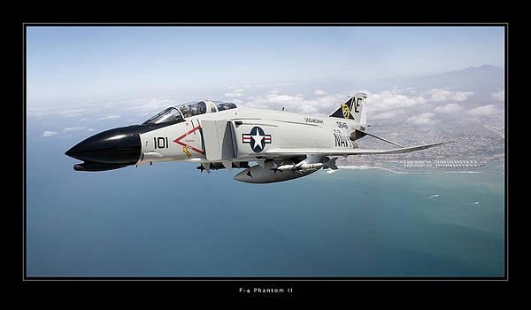 F-4 Phantom II by Larry McManus