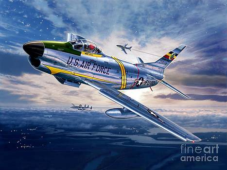 F-86D Sabre Dog by Stu Shepherd