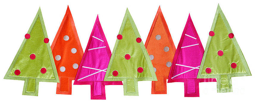 Jo Ann Snover - Fabric Christmas Trees