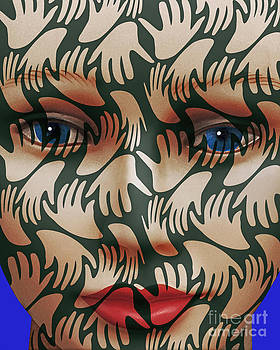 Face # 3 by Keith Dillon