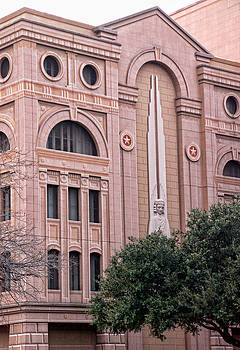 Face of a Fort Worth Courthouse No More by Janet Maloy