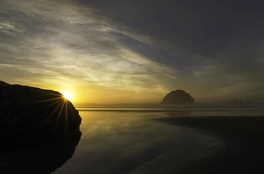 Face Rock Sunset by Chris Malone