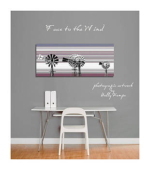 Holly Kempe - Face to the Wind Wall Art