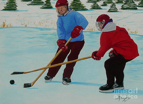 Faceoff by Anthony Dunphy