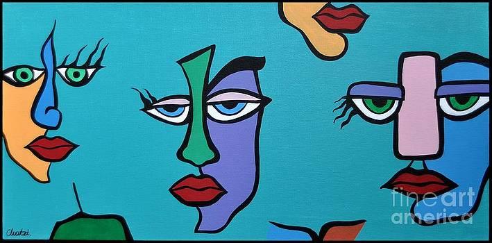 Faces 8 by Kostas Chatzivasdekis