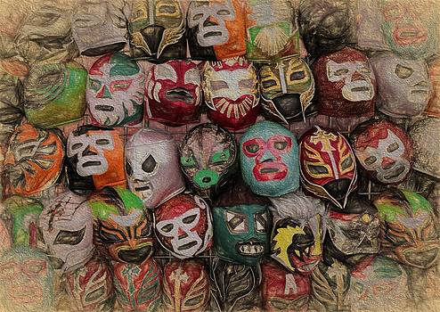 Faces in the Crowd by Eric  Bjerke Sr