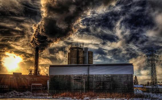 Factory in Norway by IP Maesstro