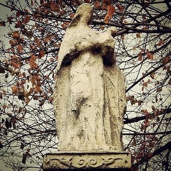 Fading Away. #cemetery #philadelphia by Brian Harris