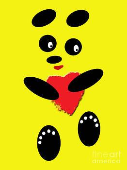 Fading Like A Flower. Panda In Love. 06 by Ausra Huntington nee Paulauskaite