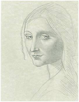 Portrait of a Holy Woman  by Gabriel  Palcic