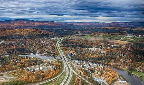 Fairbanks Alaska The George Parks Highway by Michael Rogers